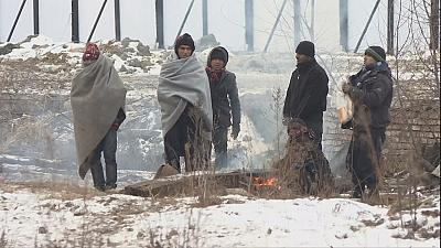 Big freeze takes deadly toll on migrants in Europe
