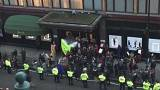 Harrods: Protest over waiters' tips at landmark London store