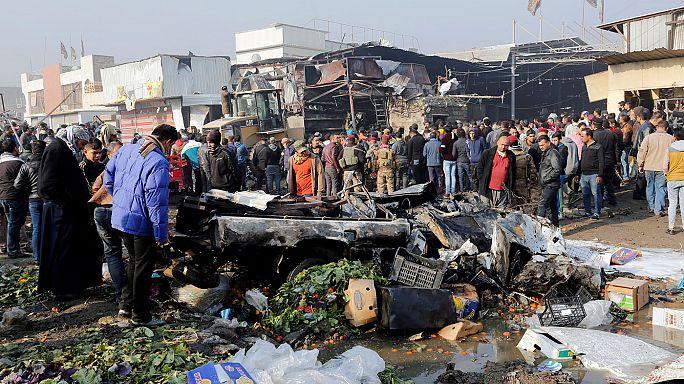 Субботний взрыв в Багдаде  - дело рук ИГИЛ