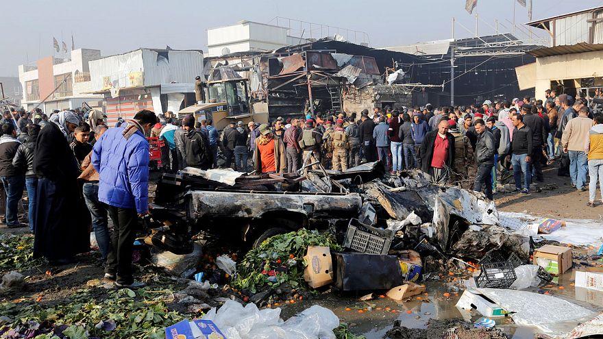 Iraq: car bomb at Baghdad market kills over a dozen