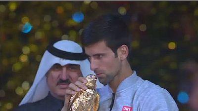Tennis : Djokovic domine murray à l'open du Quatar