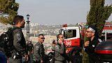 Kudüs'te kamyon yayaların arasına daldı: En az 4 ölü