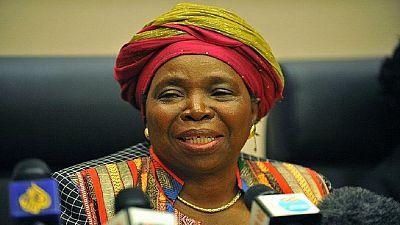 Afrique du Sud : la ligue des femmes de l'ANC soutiennent Dlamini-Zuma pour la présidence du parti.
