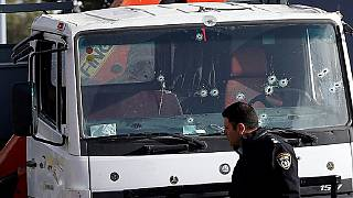 Truck attack in Jerusalem leaves four soldiers dead