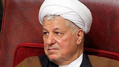 Iran's ex-president Rafsanjani dies
