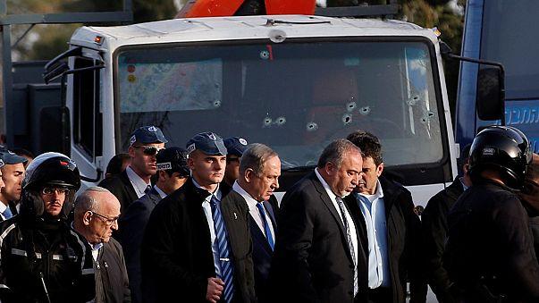 نتانیاهو: راننده کامیون مهاجم به سربازان اسرائیلی هوادار داعش بود