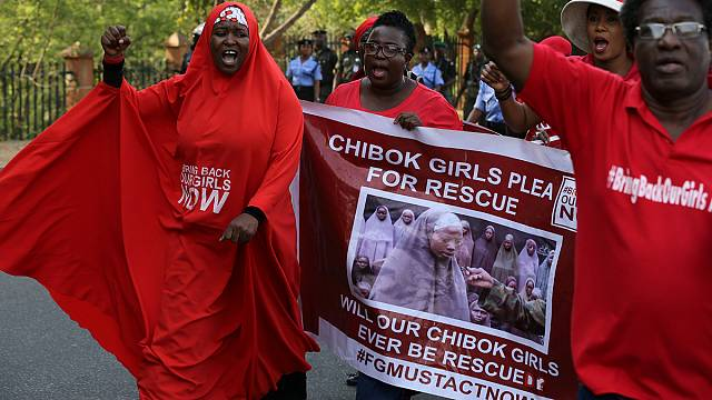 Campaigners mark 1000 days since Chibok girls' abduction