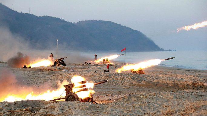 ABD: Kuzey Kore'den gelecek olası füzeyi düşürmeye hazırız