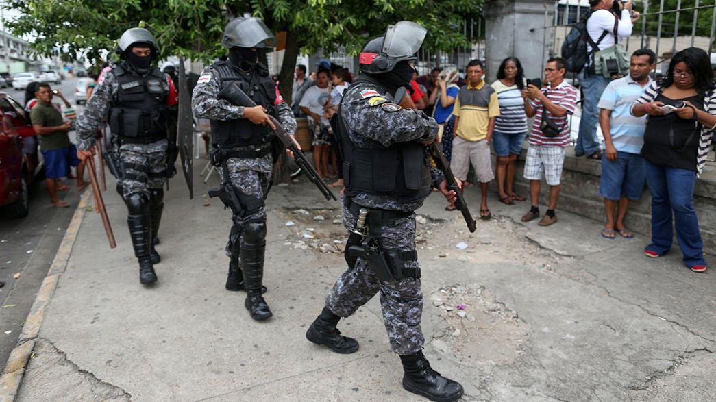 Бразилия: более ста человек стали жертвами тюремных беспорядков