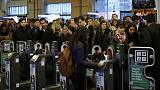 Chaos in London as millions stranded by Tube strike