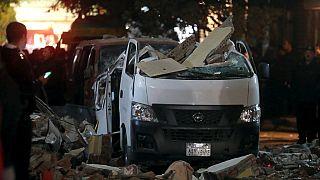 Egypte : huit policiers tués dans une attaque au camion piégé