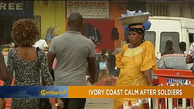 Ivorian president strikes deal with striking soldiers [The Morning Call]