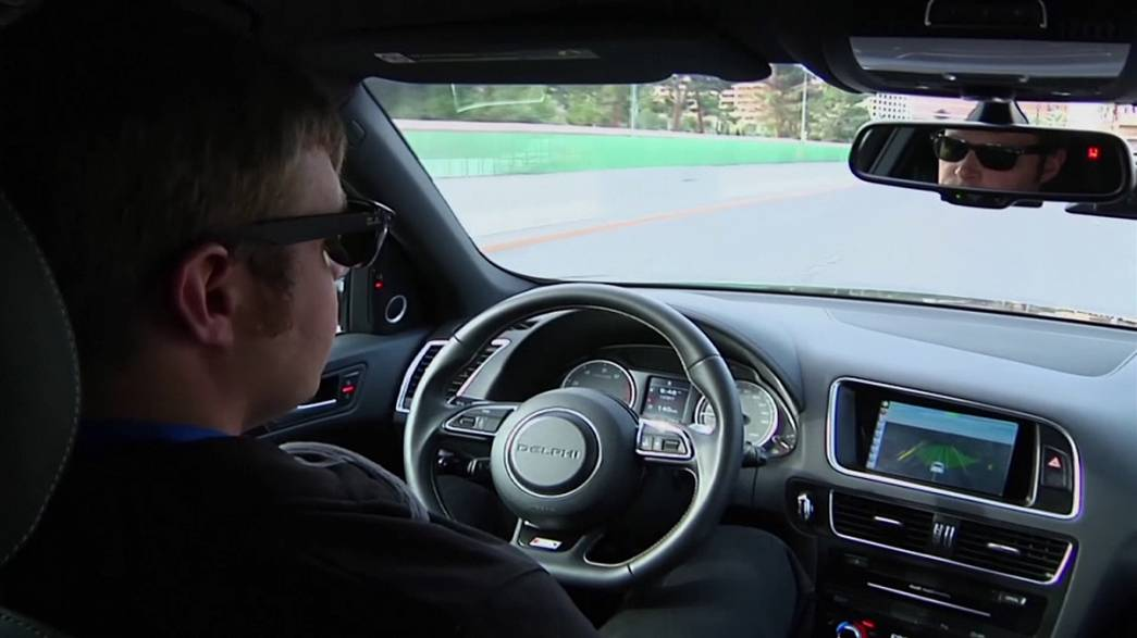 Мир автомобилей. в котором нет водителей