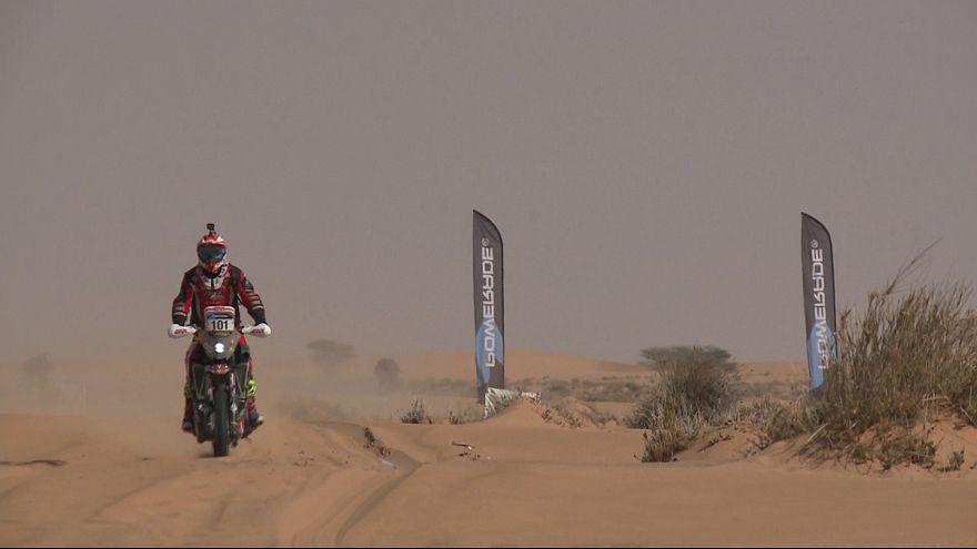 Africa Eco Race: Paolo Ceci su Honda vince la prova speciale