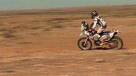 Africa Eco Race, 5-й этап: Агошков выиграл в зачете байков, Каргинов - грузовиков