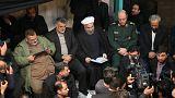 عکس هایی از مراسم یادبود اکبر هاشمی رفسنجانی با حضور حسن روحانی