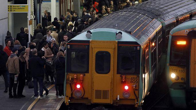 Travel chaos across London as Underground staff strike