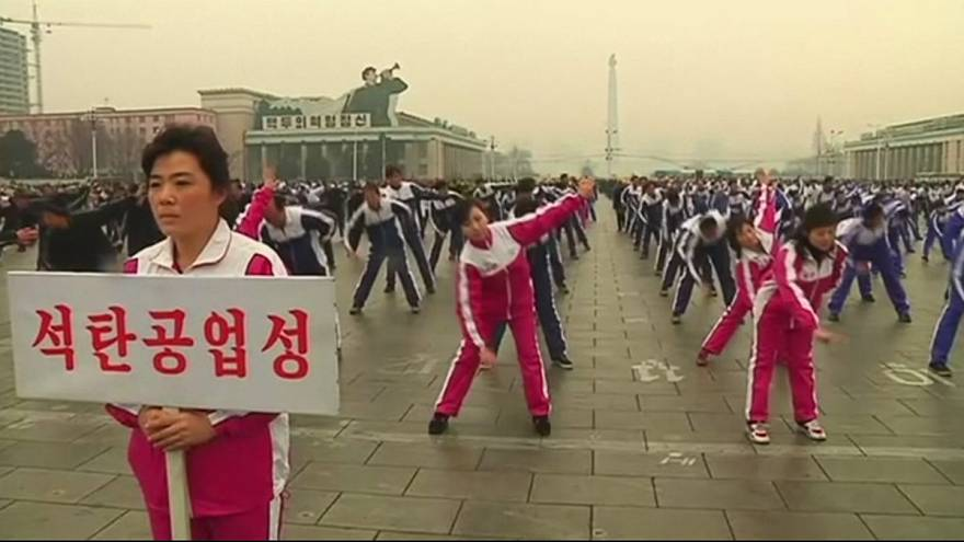 Coreia do Norte celebra dia do Desporto