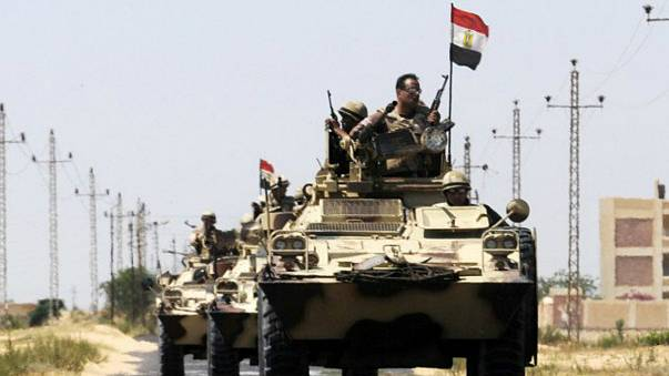 مقتل ثمانية من قوات الشرطة المصرية في هجوم على كمينين في سيناء
