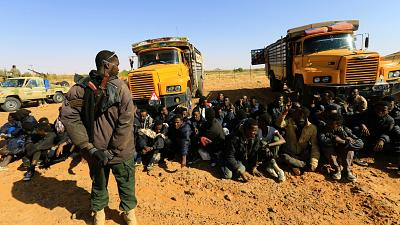 Sudan: 115 migrants intercepted in northern border with Libya
