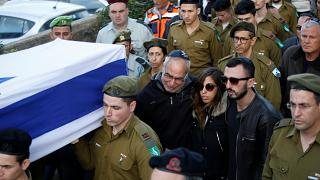 Israel enterrou soldados mortos no domingo