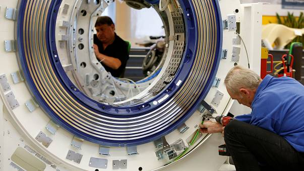 German exports jump along with industrial production