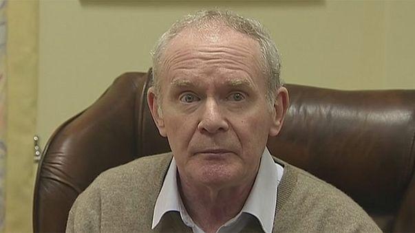 Kuzey İrlanda hükümetinde istifa