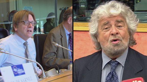Beppe Grillo ne rejoindra pas les libéraux au Parlement européen