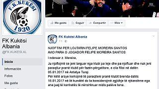 El Kukës albanés recurre a Facebook para buscar a su futbolista brasileño desaparecido