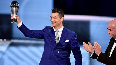 Cristiano Ronaldo nommé meilleur joueur de la FIFA