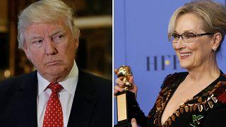ترامپ در واکنش به انتقاد مریل استریپ: به او بیش از حد بها داده شده است