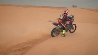 Sands take their toll on Africa Eco racers