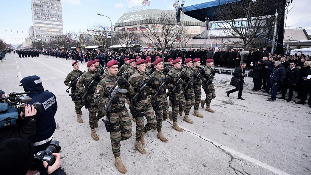 Bosnian Serb 'national holiday' rally sparks row