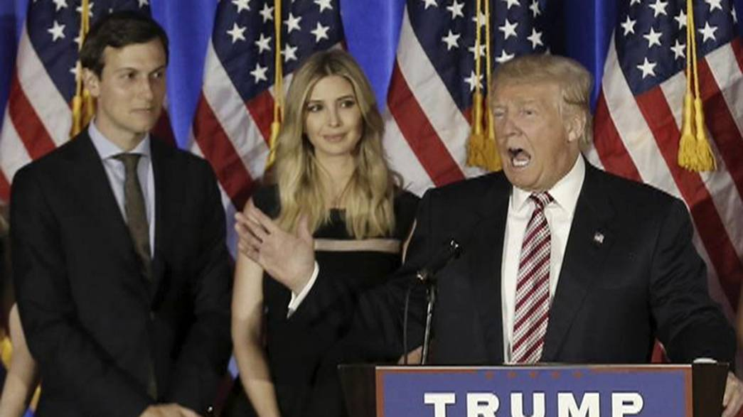 Trump appoints son-in-law as senior adviser