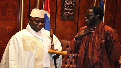 Gambia's minister resigns, flees to Senegal amid political impasse