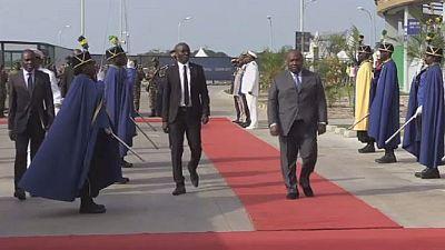 À quelques jours de la CAN 2017, Ali Bongo inaugure le stade de Port Gentil