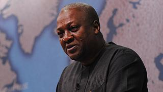 Ghana's John Mahama ends his term [The Morning Call]