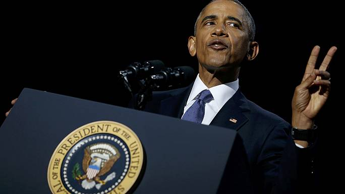 """""""America is a better, stronger place,"""" says Obama in farewell speech"""