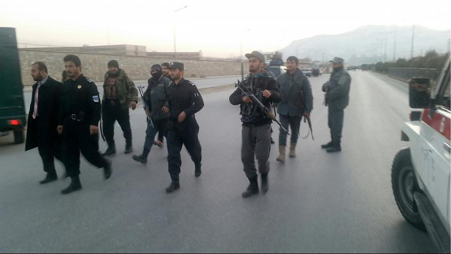 Afghan Taliban claims deadly twin blasts in Kabul