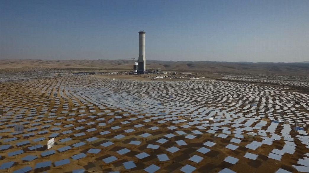 A torre solar mais alta do mundo