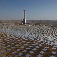 ساخت بلندترین برج خورشیدی دنیا در صحرای اسراییل