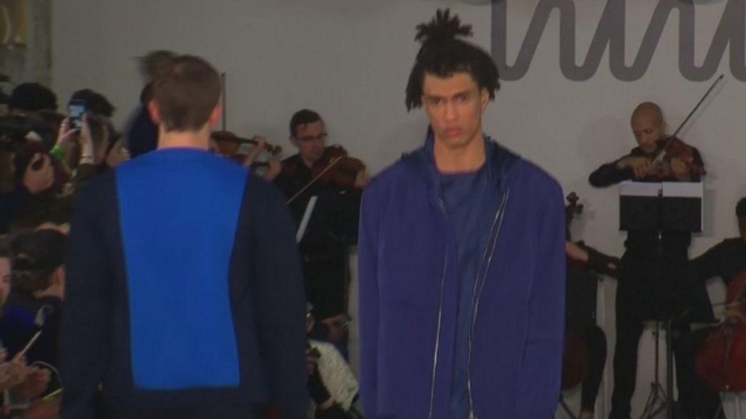 Londra Moda Haftası'nda erkek şıklığı