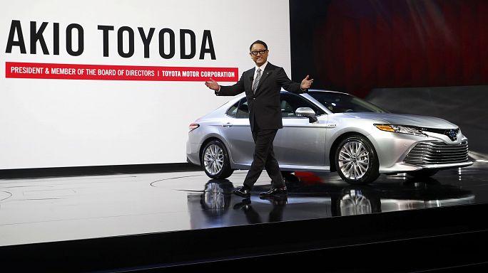 Toyota, Ali Baba e gli altri: sfilata alla corte di Trump