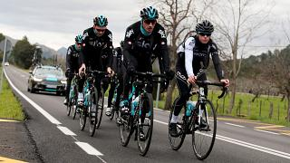 Team Sky back in the saddle in Mallorca training