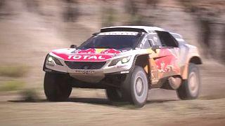 Loeb übernimmt die Führung der Rallye Dakar