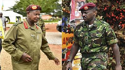 Ugandan President appoints his son, a major-general, as senior advisor