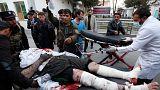 Decenas de muertos y heridos en una cadena de atentados de los talibanes en Afganistán