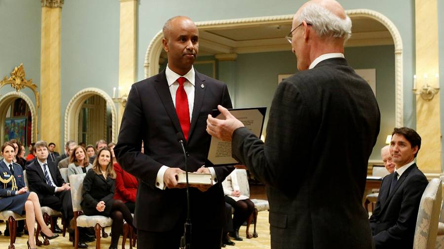 Somali-born lawyer, Ahmed Hussen, named new Canadian