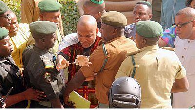 Pro-Biafran leader Nnamdi Kanu's secret trial begins in Nigeria