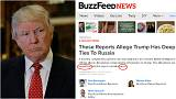 Why did BuzzFeed publish unverified allegations on Trump's Russia ties?